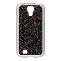 Chaos B3 Samsung Galaxy S4 I9500/ I9505 Case (white) by MoreColorsinLife