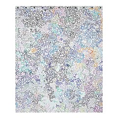 Chaos W2 Shower Curtain 60  X 72  (medium)  by MoreColorsinLife