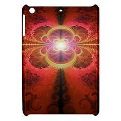 Liquid Sunset, A Beautiful Fractal Burst Of Fiery Colors Apple Ipad Mini Hardshell Case by beautifulfractals