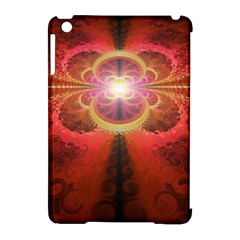 Liquid Sunset, A Beautiful Fractal Burst Of Fiery Colors Apple Ipad Mini Hardshell Case (compatible With Smart Cover) by beautifulfractals