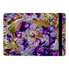 Floral Chrome 2b Samsung Galaxy Tab Pro 10 1  Flip Case by MoreColorsinLife