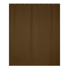 Brown Hide Solid Color  Shower Curtain 60  X 72  (medium)  by SimplyColor