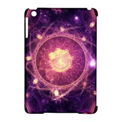 A Gold And Royal Purple Fractal Map Of The Stars Apple Ipad Mini Hardshell Case (compatible With Smart Cover) by beautifulfractals