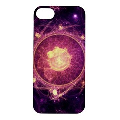 A Gold And Royal Purple Fractal Map Of The Stars Apple Iphone 5s/ Se Hardshell Case by beautifulfractals