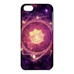 A Gold And Royal Purple Fractal Map Of The Stars Apple Iphone 5c Hardshell Case by beautifulfractals