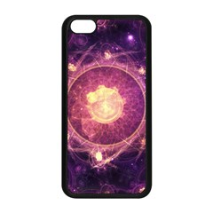 A Gold And Royal Purple Fractal Map Of The Stars Apple Iphone 5c Seamless Case (black) by beautifulfractals
