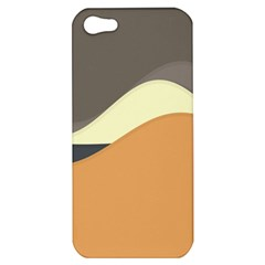 Wave Chevron Waves Material Apple Iphone 5 Hardshell Case by Mariart