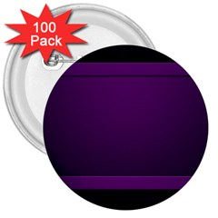 Board Purple Line 3  Buttons (100 Pack)  by Mariart