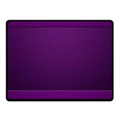Board Purple Line Fleece Blanket (small) by Mariart