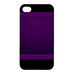 Board Purple Line Apple Iphone 4/4s Premium Hardshell Case by Mariart