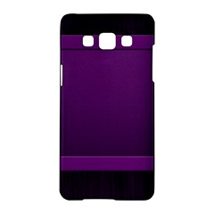 Board Purple Line Samsung Galaxy A5 Hardshell Case  by Mariart
