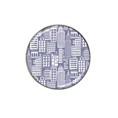Building Citi Town Cityscape Hat Clip Ball Marker (10 Pack) by Mariart