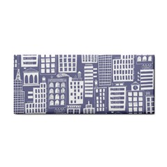 Building Citi Town Cityscape Cosmetic Storage Cases by Mariart