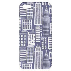 Building Citi Town Cityscape Apple Iphone 5 Hardshell Case by Mariart