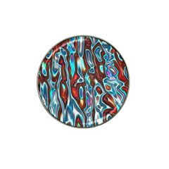 Dizzy Stone Wave Hat Clip Ball Marker by Mariart