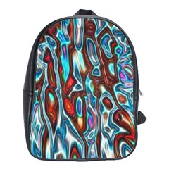 Dizzy Stone Wave School Bags (xl)  by Mariart