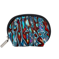 Dizzy Stone Wave Accessory Pouches (small)  by Mariart