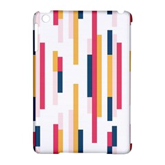 Geometric Line Vertical Rainbow Apple Ipad Mini Hardshell Case (compatible With Smart Cover) by Mariart