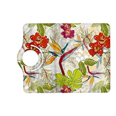 Flower Floral Red Green Tropical Kindle Fire Hd (2013) Flip 360 Case by Mariart