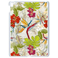 Flower Floral Red Green Tropical Apple Ipad Pro 9 7   White Seamless Case by Mariart