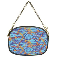 Geometric Line Cable Love Chain Purses (one Side)  by Mariart