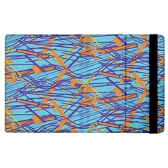 Geometric Line Cable Love Apple Ipad 3/4 Flip Case by Mariart