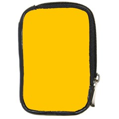 Amber Solid Color  Compact Camera Cases by SimplyColor