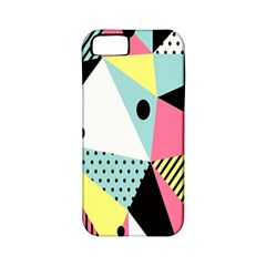 Geometric Polka Triangle Dots Line Apple Iphone 5 Classic Hardshell Case (pc+silicone) by Mariart