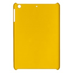 Amber Solid Color  Apple Ipad Mini Hardshell Case by SimplyColor