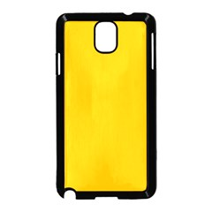Amber Solid Color  Samsung Galaxy Note 3 Neo Hardshell Case (black) by SimplyColor