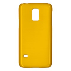 Amber Solid Color  Galaxy S5 Mini by SimplyColor