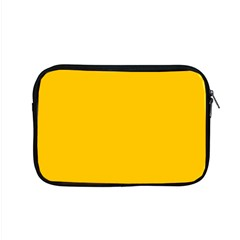 Amber Solid Color  Apple Macbook Pro 15  Zipper Case by SimplyColor