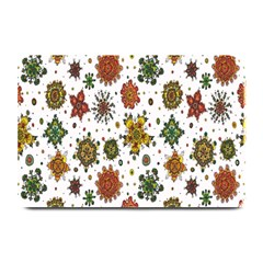 Flower Floral Sunflower Rose Pattern Base Plate Mats by Mariart