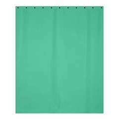Aquamarine Solid Color  Shower Curtain 60  X 72  (medium)  by SimplyColor