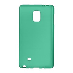 Aquamarine Solid Color  Galaxy Note Edge by SimplyColor
