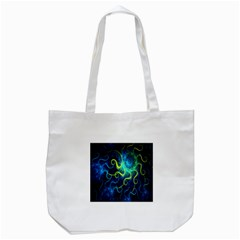 Electricsheep Mathematical Algorithm Displays Fractal Permutations Tote Bag (white) by Mariart