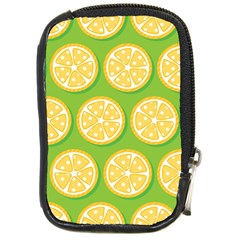Lime Orange Yellow Green Fruit Compact Camera Cases by Mariart