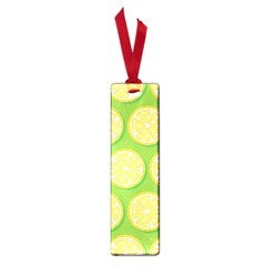 Lime Orange Yellow Green Fruit Small Book Marks by Mariart