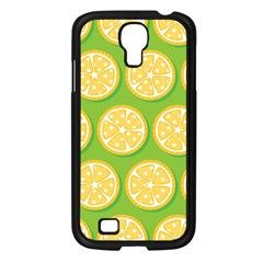 Lime Orange Yellow Green Fruit Samsung Galaxy S4 I9500/ I9505 Case (black) by Mariart