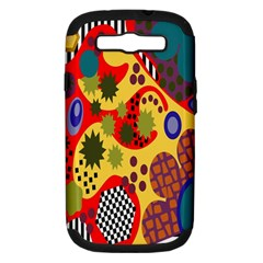 Line Star Polka Dots Plaid Circle Samsung Galaxy S Iii Hardshell Case (pc+silicone) by Mariart