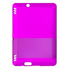 Line Pink Kindle Fire Hdx Hardshell Case by Mariart