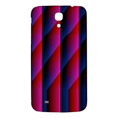 Photography Illustrations Line Wave Chevron Red Blue Vertical Light Samsung Galaxy Mega I9200 Hardshell Back Case by Mariart