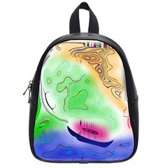 Mirror Light School Bags (small)  by Mariart