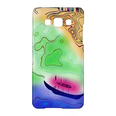 Mirror Light Samsung Galaxy A5 Hardshell Case  by Mariart