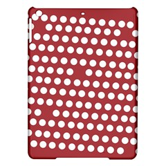 Pink White Polka Dots Ipad Air Hardshell Cases by Mariart