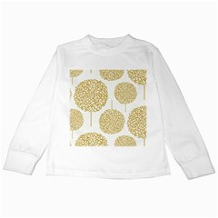 Loboloup Hydrangea Quote Floral And Botanical Flower Kids Long Sleeve T Shirts by Mariart