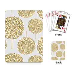 Loboloup Hydrangea Quote Floral And Botanical Flower Playing Card by Mariart