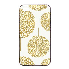Loboloup Hydrangea Quote Floral And Botanical Flower Apple Iphone 4/4s Seamless Case (black) by Mariart