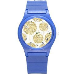 Loboloup Hydrangea Quote Floral And Botanical Flower Round Plastic Sport Watch (s) by Mariart