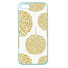 Loboloup Hydrangea Quote Floral And Botanical Flower Apple Seamless Iphone 5 Case (color) by Mariart